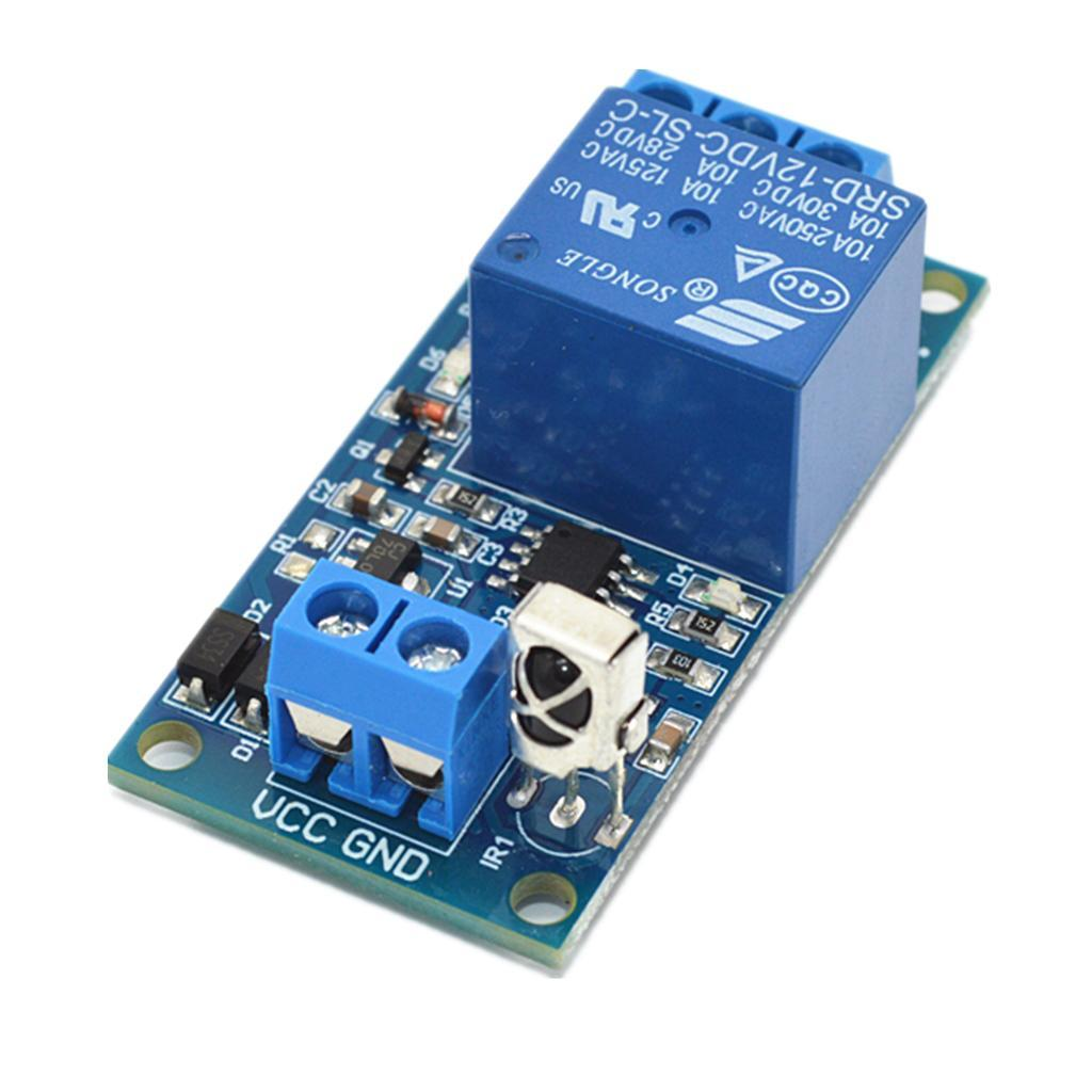 1-Way-Infrared-Relay-Module-With-Remote-Control-Support-5V-12V-24V-Switch thumbnail 13