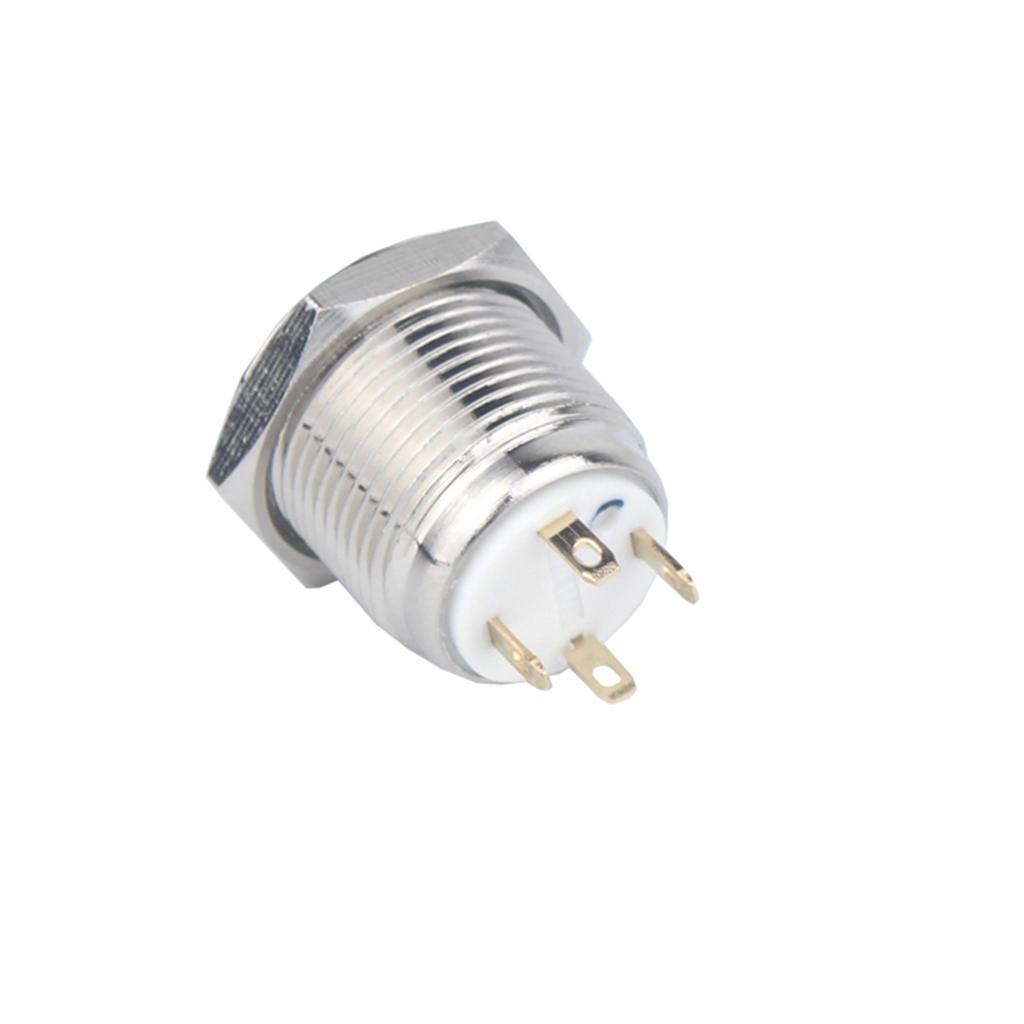 12V-Luz-Indicadora-de-Metal-Lampara-para-Senal-de-Giro-Proyecto-de-Bricolaje miniatura 9