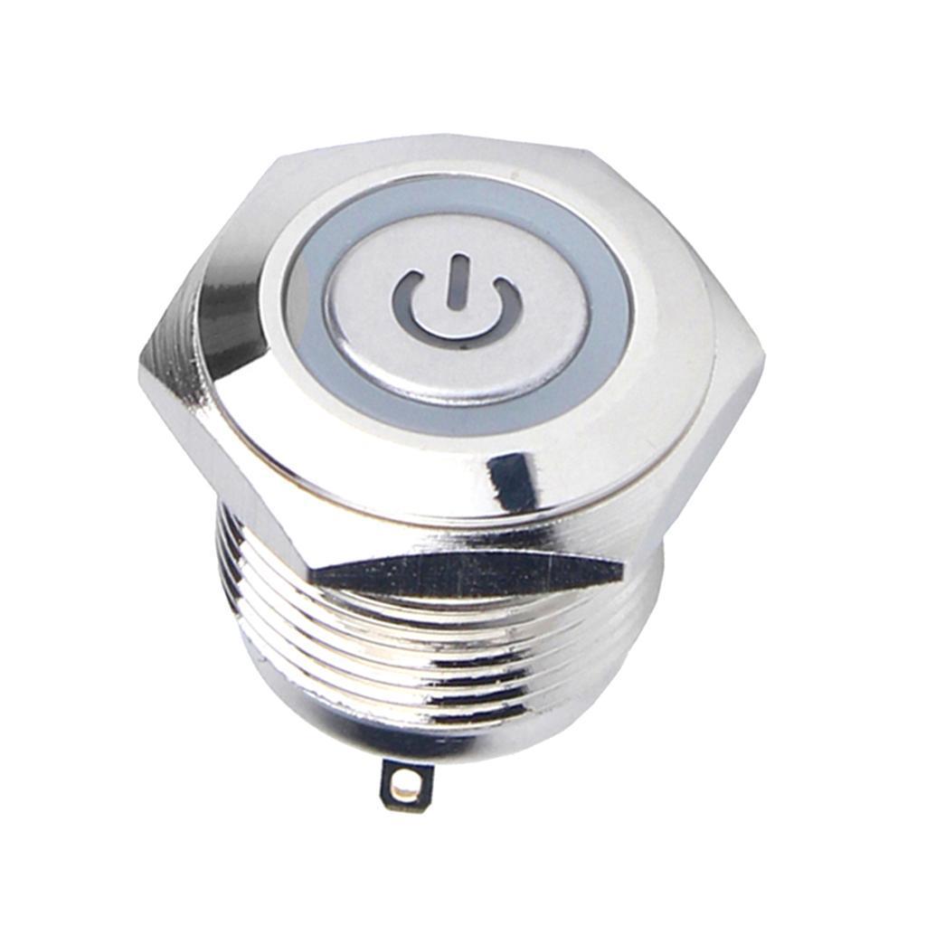 12V-Luz-Indicadora-de-Metal-Lampara-para-Senal-de-Giro-Proyecto-de-Bricolaje miniatura 7