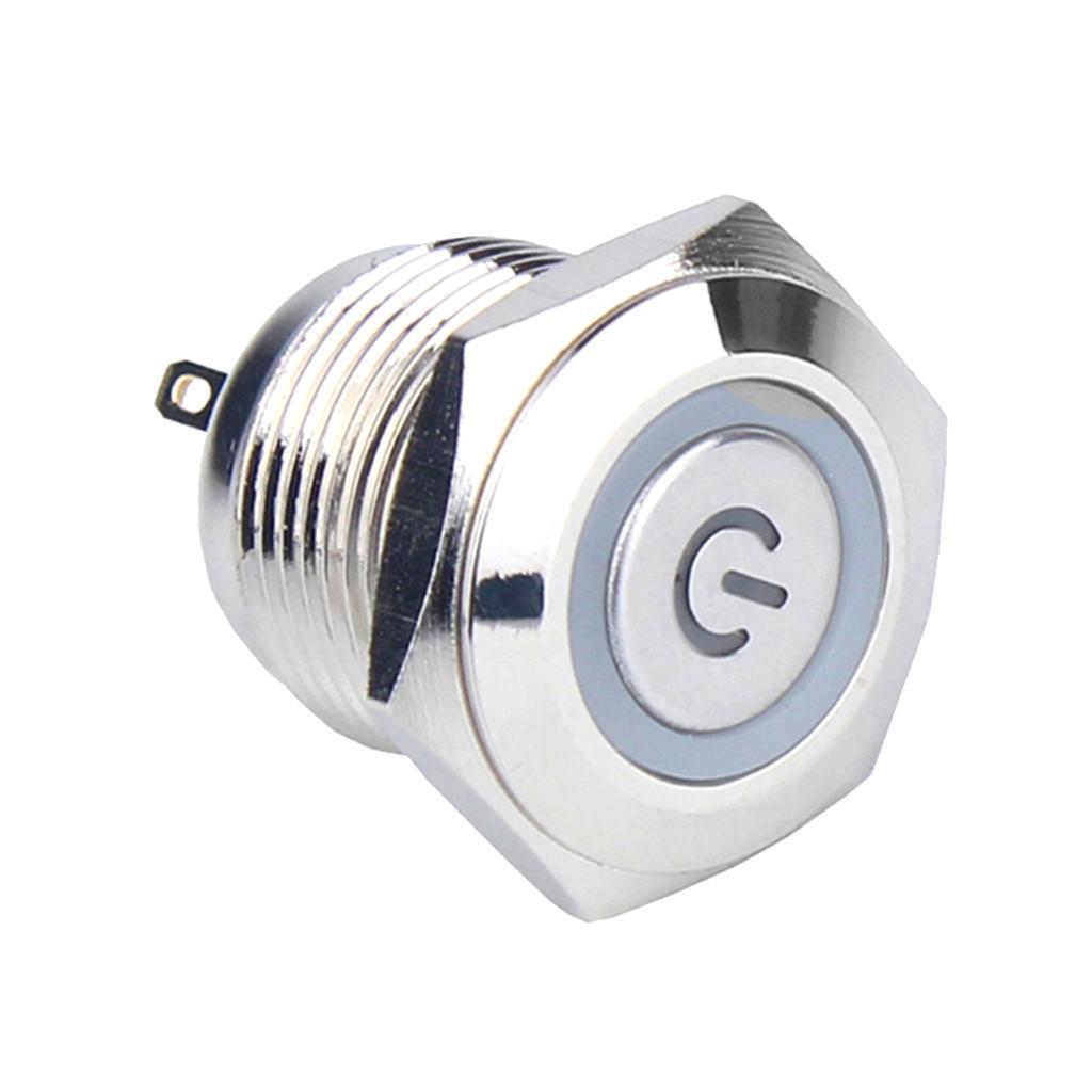 12V-Luz-Indicadora-de-Metal-Lampara-para-Senal-de-Giro-Proyecto-de-Bricolaje miniatura 8