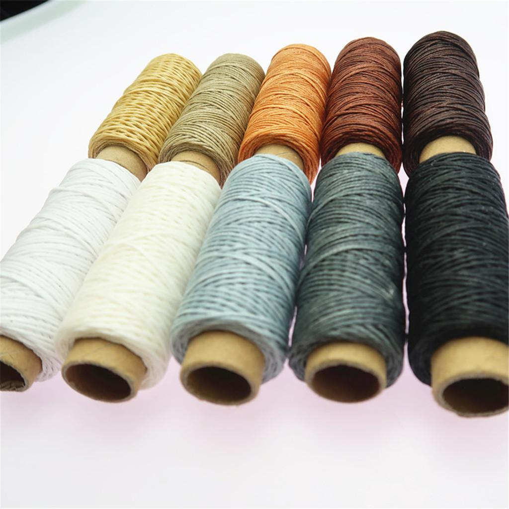 10-Pieces-Leather-Accesseory-Cotton-Wax-Thread-for-Domestic-Sewing-Machine thumbnail 3