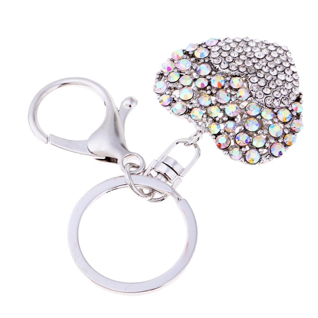 Alloy-Fashion-Flamingo-Rhinestone-Keyring-Bag-Hanging-Decor-Women-Keychain thumbnail 12