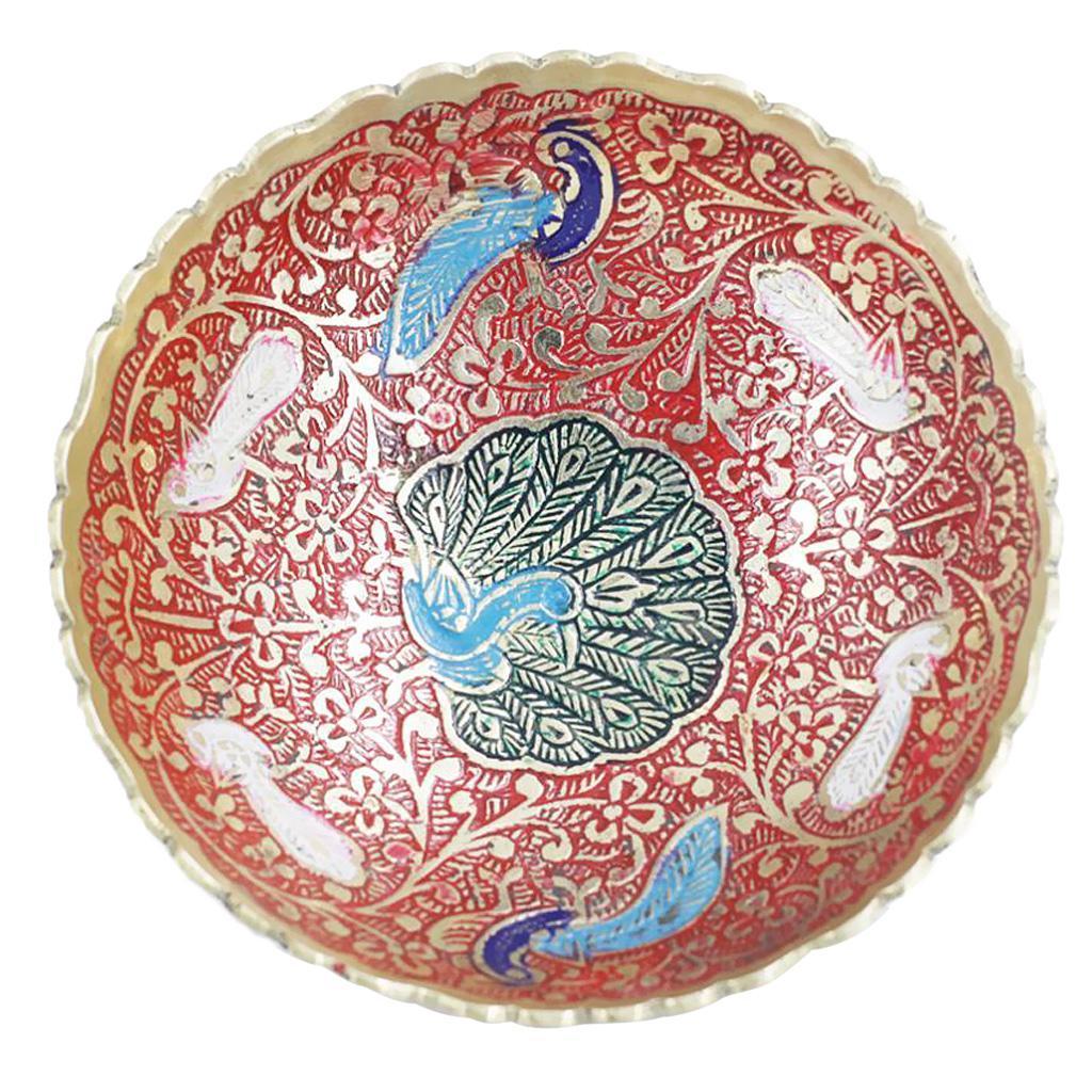 Piatta-Cibo-Casa-Servire-Tavola-Frutta-Buddismo-Decorazione-Collezioni miniatura 7