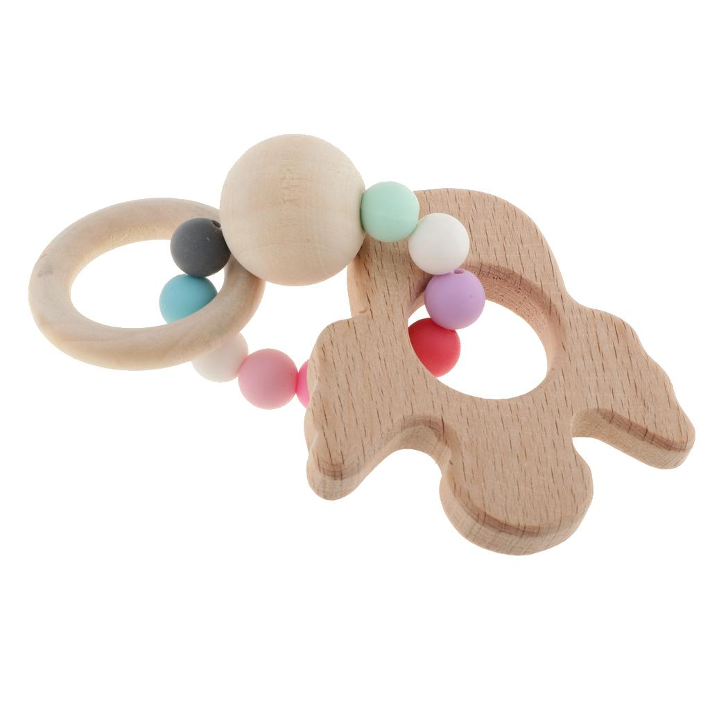 Silicone Butterfly Baby Teether Toddler Teething Toy Chewable Soother Toy LC