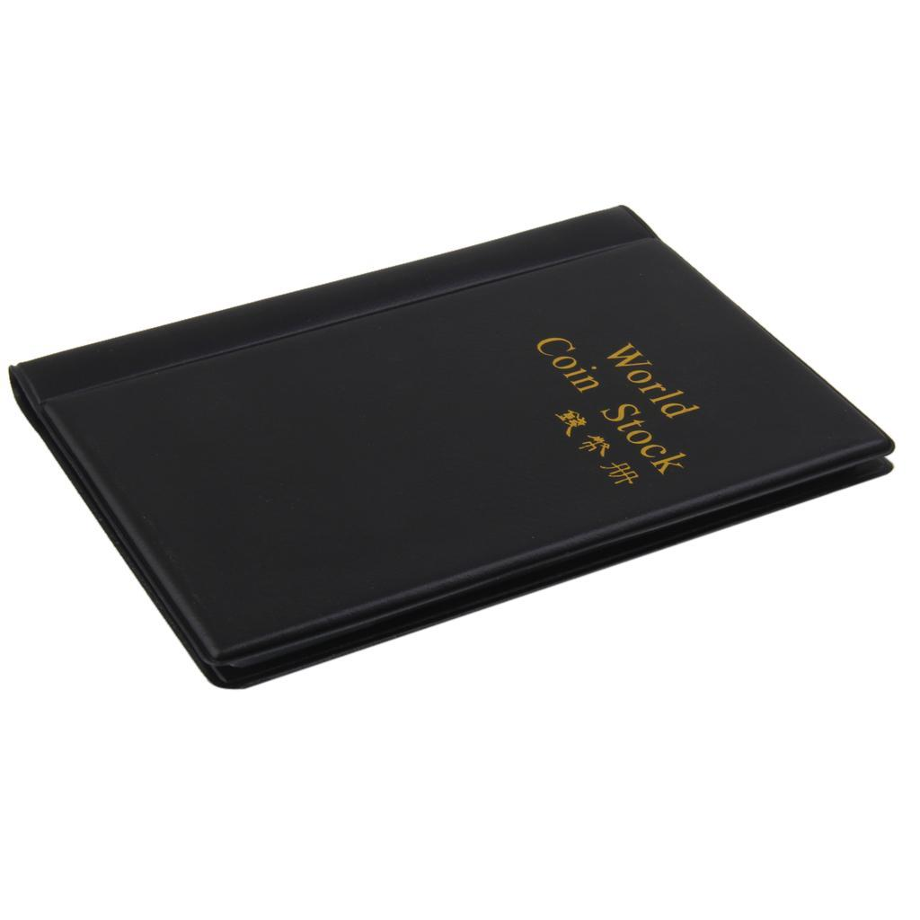 Raccoglitore-per-Monete-da-Collezione-Album-Portamonete-120-Tasche-10-Fogli miniatura 34