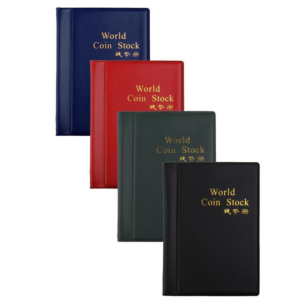 Raccoglitore-per-Monete-da-Collezione-Album-Portamonete-120-Tasche-10-Fogli miniatura 35