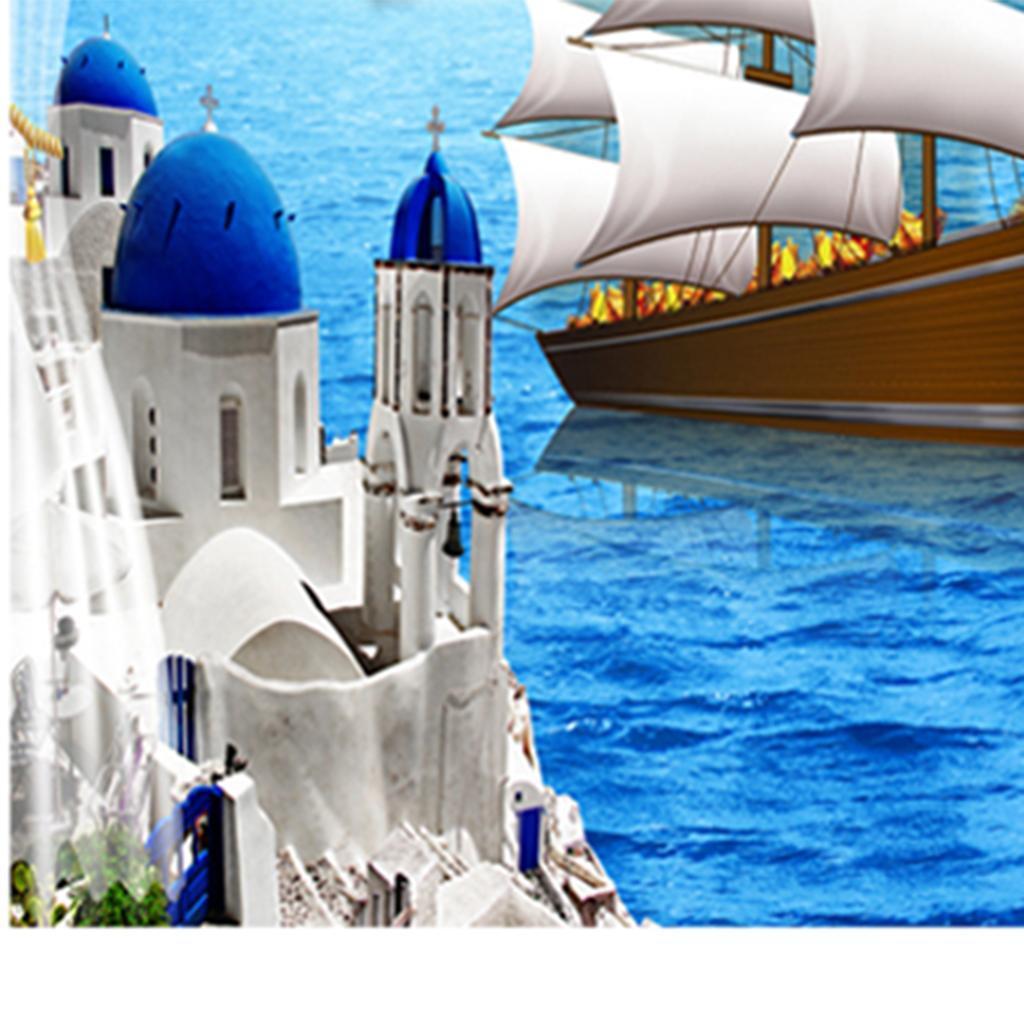 Tappezzeria-Da-Parete-Arazzo-3D-Per-Uso-Esterno-Modello-Stampa-Chiaro-Poliestere miniatura 14