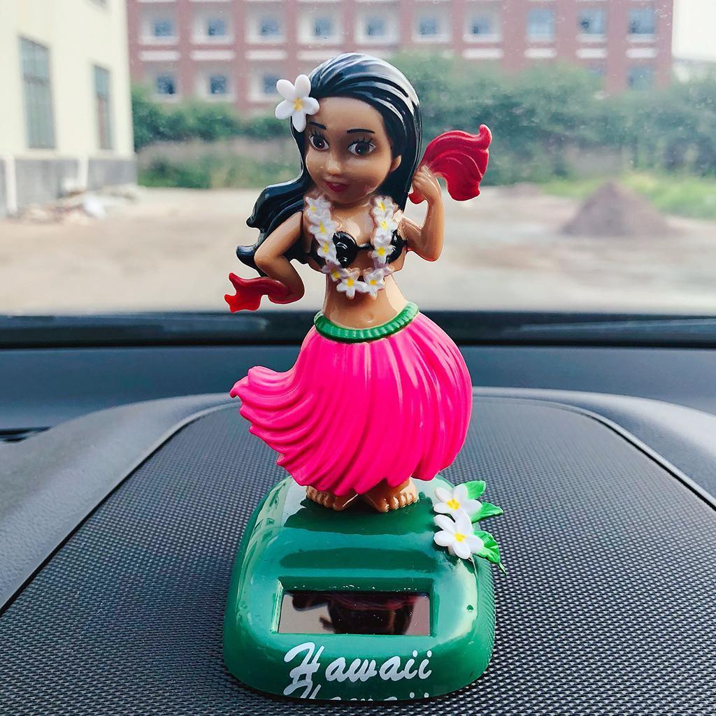 Solar-Power-Dancing-Hawaii-Girl-Dancer-Toy-Home-Office-Car-Dashboard-Decor thumbnail 3