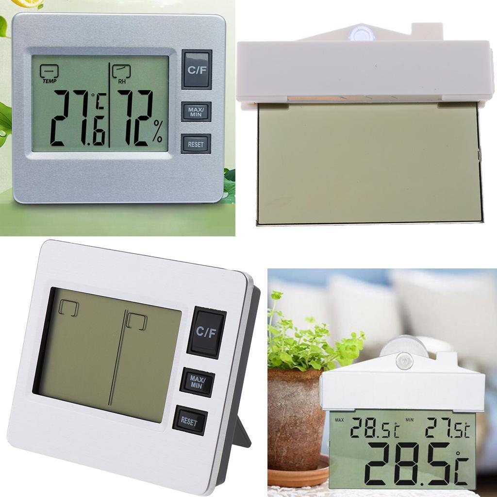 Strumenti-Per-Idrometro-con-Termometro-Digitale-per-Stazioni-Meteo-da miniatura 3