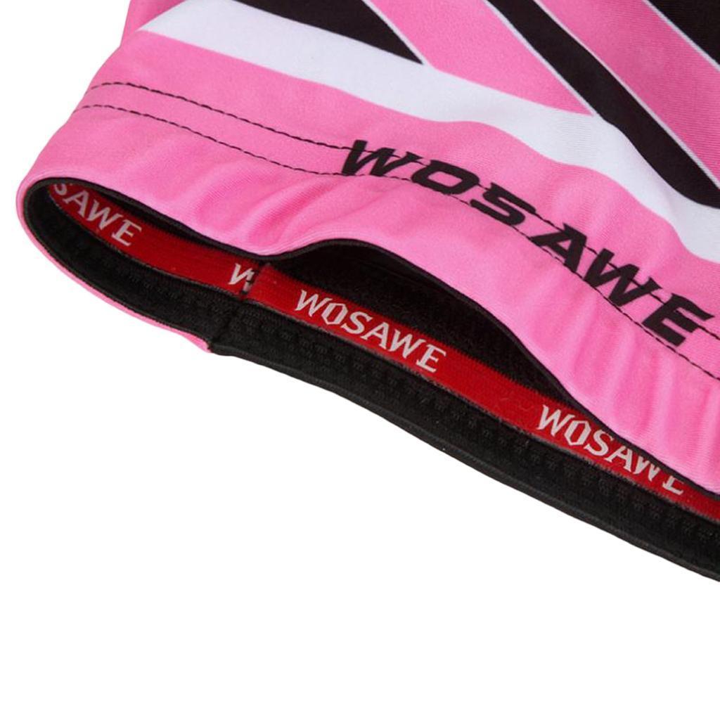 Velo-de-route-Velo-Femmes-Cyclisme-Manches-Courtes-Maillots-Haut-T-shirt miniature 21