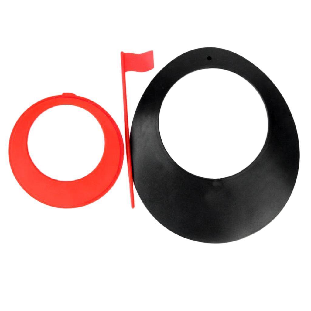 Foro-per-bandiera-per-allenamento-di-golf-indoor-all-039-aperto miniatura 14