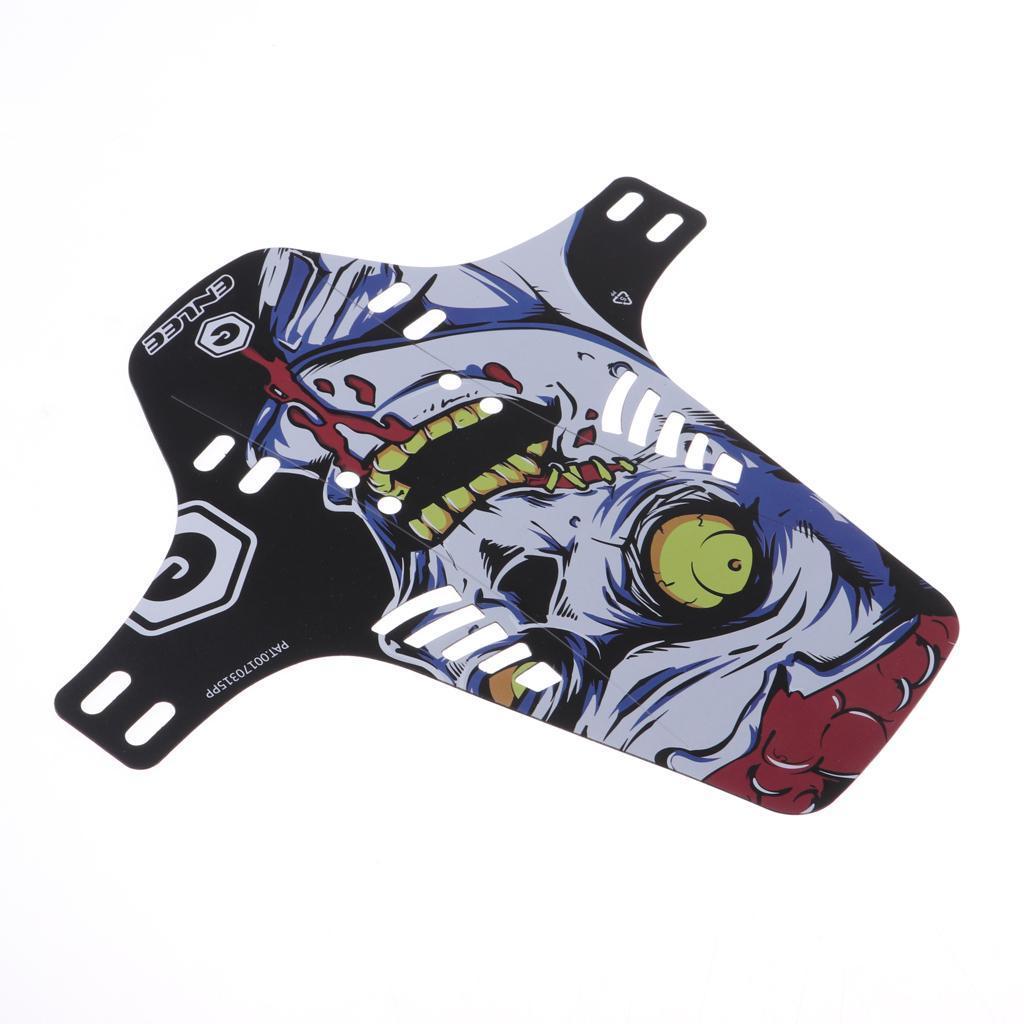 Parafanghi-MTB-per-Mountain-Bike-Parafango-anteriore-con-cinturino miniatura 4