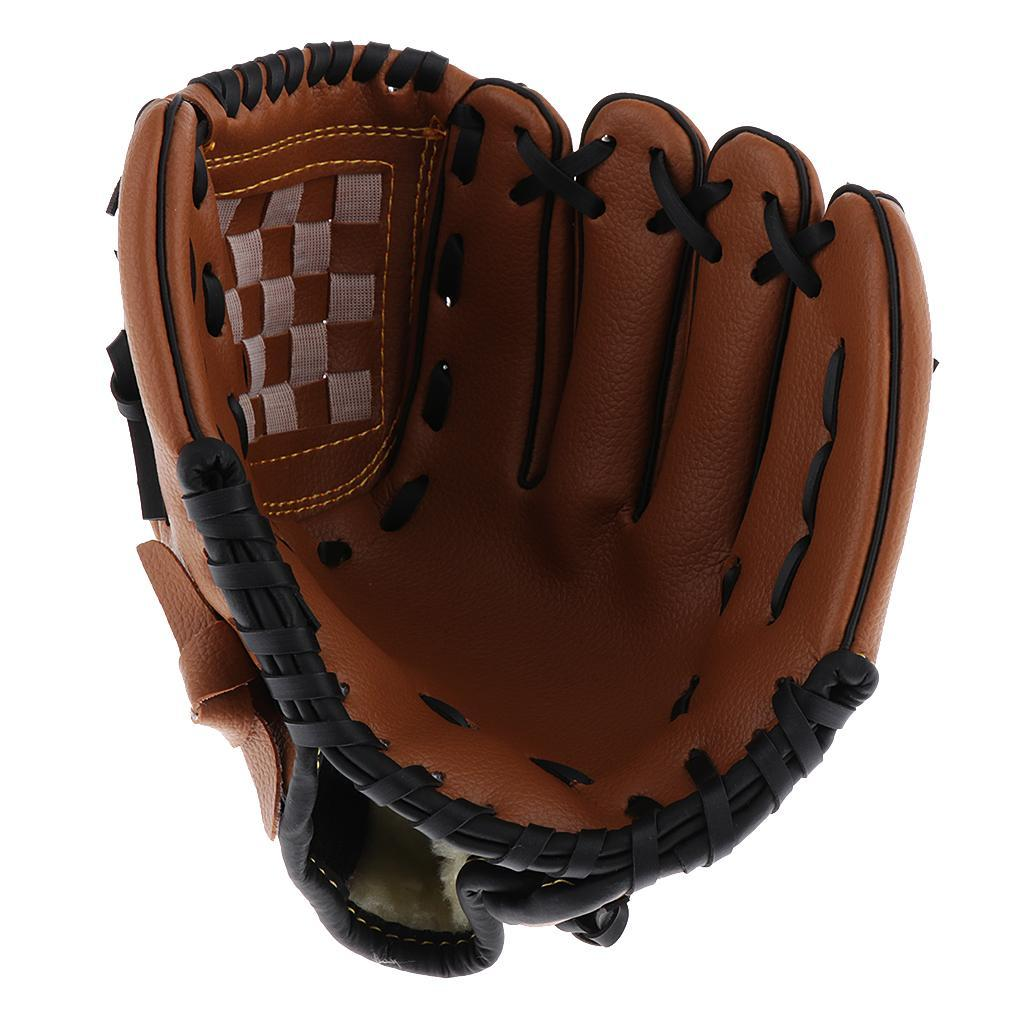 Baseball-Softball-Gloves-Wear-resistant-Mitts-Right-Hand-Thrower-Youth-Adult thumbnail 8