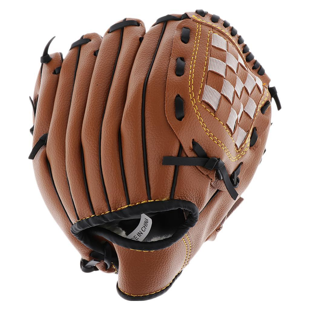 Baseball-Softball-Gloves-Wear-resistant-Mitts-Right-Hand-Thrower-Youth-Adult thumbnail 10