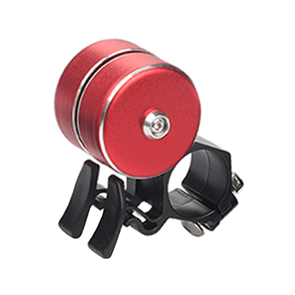 For Safety Cycling Bicycle Handlebar Metal Ring Mini Bike Bell Horn Sound Alarm