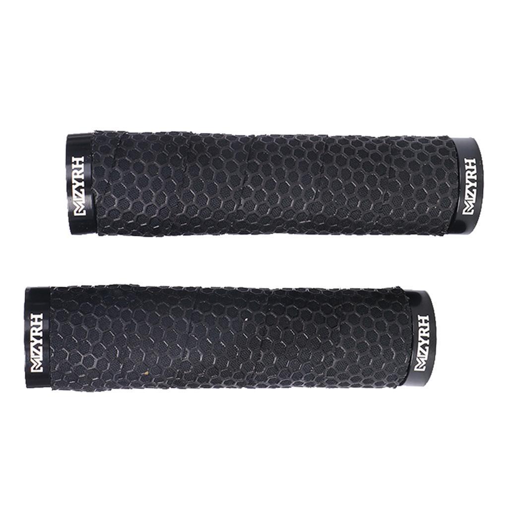 Double Lock on BMX MTB Mountain Bike Bicycle Cycling Handle Bar Handlebar Grip