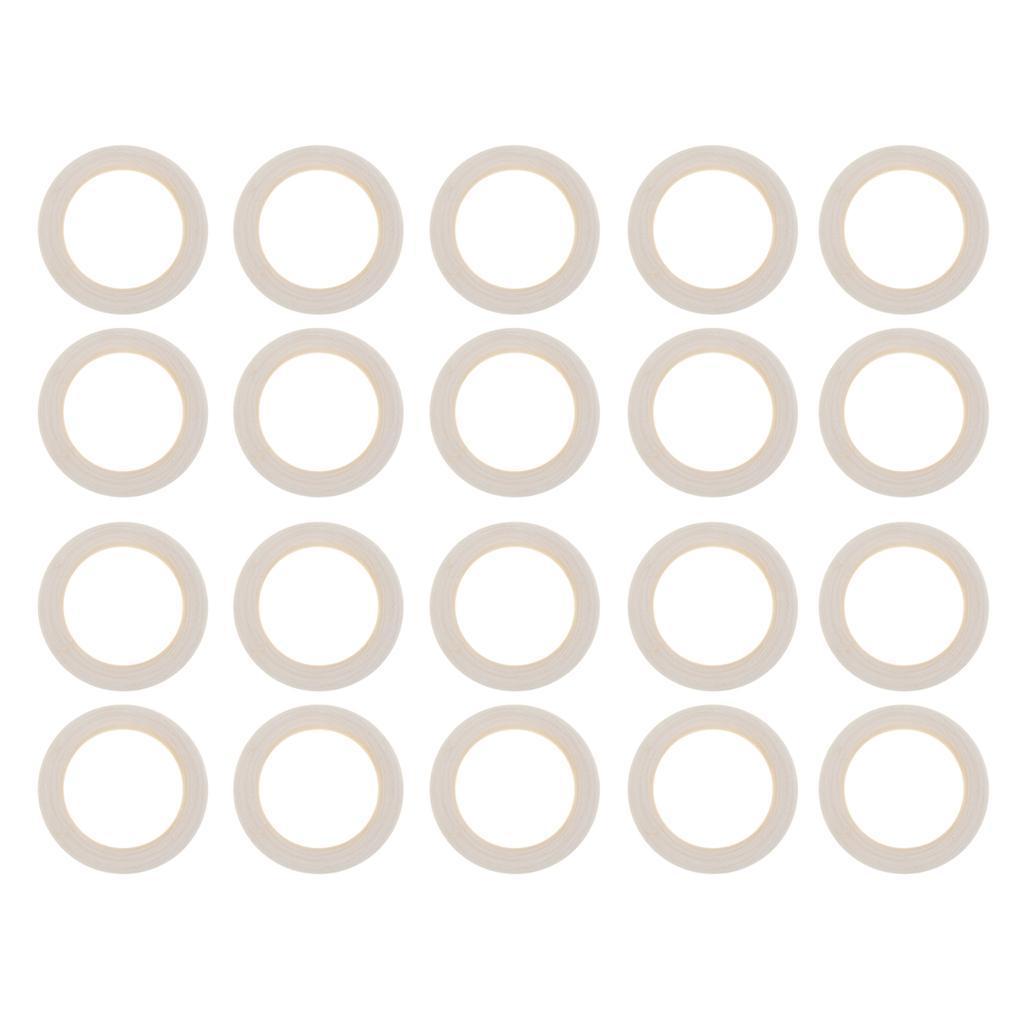20pcs-Baby-Natural-Wood-Teething-Ring-Teether-Toy-Wooden-Bracelet-DIY-Crafts thumbnail 23