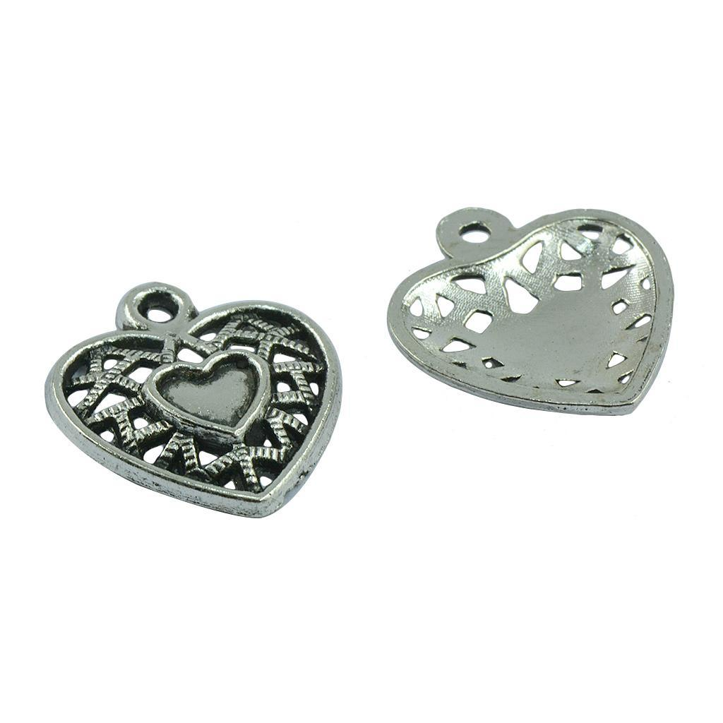 Pendentifs-Breloques-Charms-pour-Bijoux-Collier-Bracelet-DIY-Artisanat miniature 19