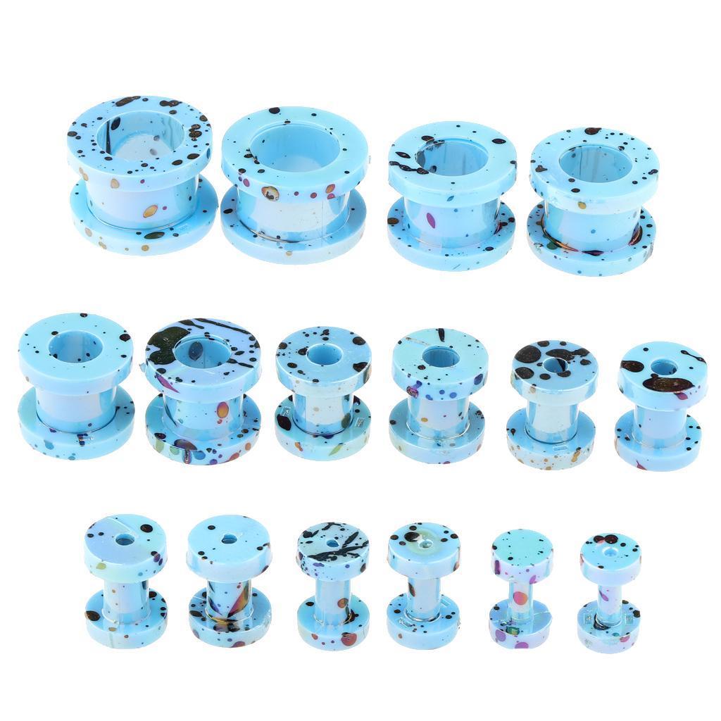 16-Pezzi-Tappi-Auricolari-Posteriori-Vite-8-Formati-Assortiti-Accessori miniatura 21