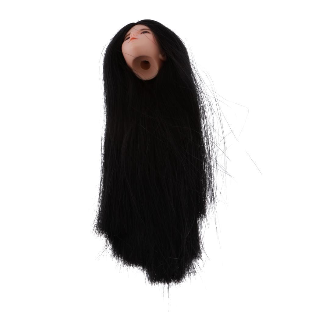 1-6-Scale-Female-Head-Sculpt-pour-Hot-Toys-Phicen-Kumik-CY-CG-Action-Figures miniature 7