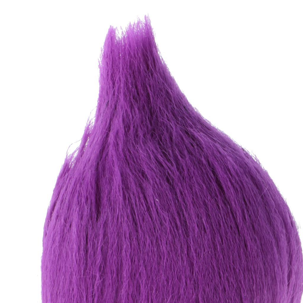 Straight-Gradient-Curly-Hair-Wig-for-18-039-039-Doll-Dress-up-Accessory thumbnail 36