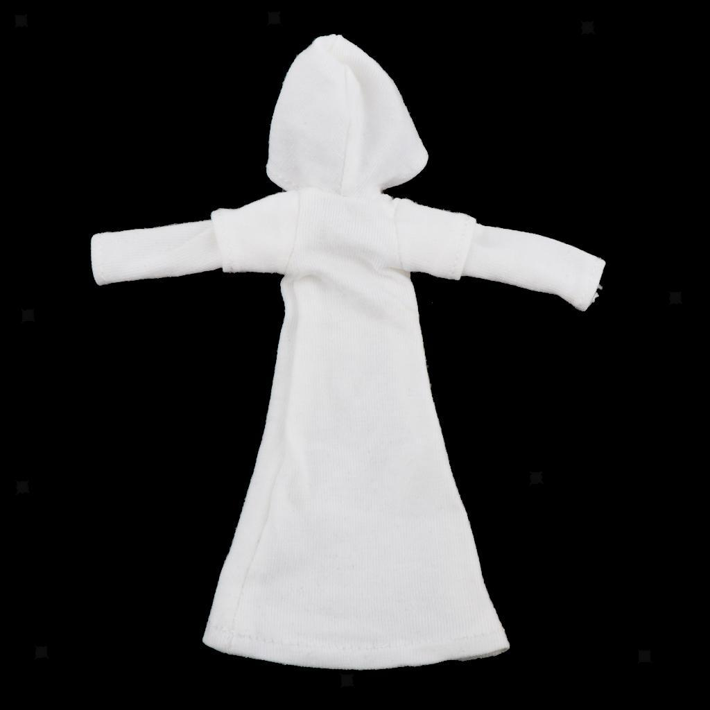 1-9-Action-Figure-Accessory-1-9Doll-Clothes-Action-Figure-Hooded-Dress-Decor thumbnail 7