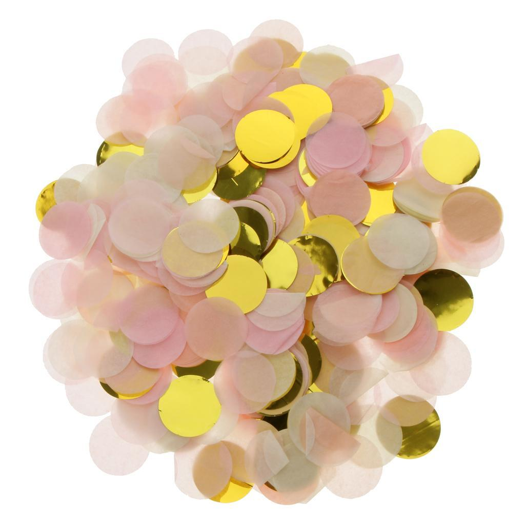 Bag-of-30g-Round-Tissue-Paper-Throwing-Confetti-Party-Wedding-Table-Decoration miniature 23