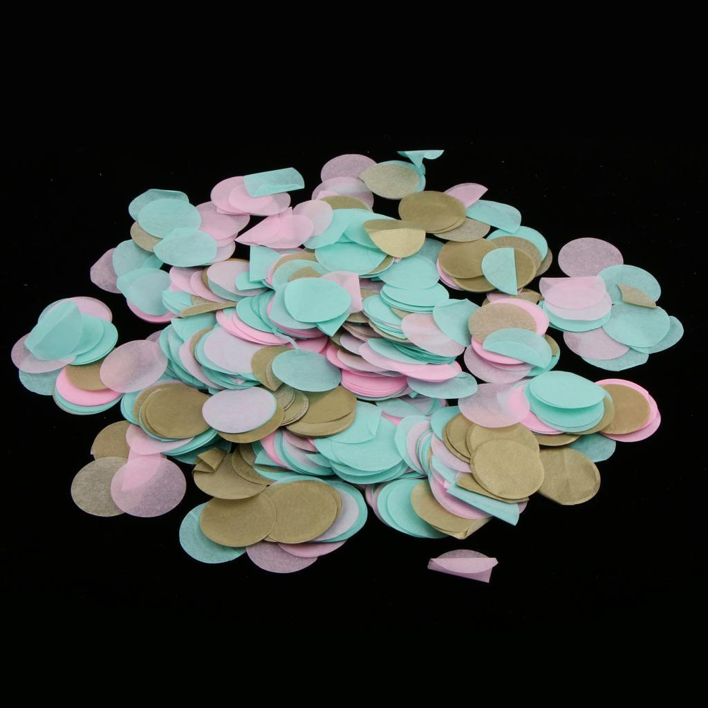 Bag-of-30g-Round-Tissue-Paper-Throwing-Confetti-Party-Wedding-Table-Decoration miniature 18