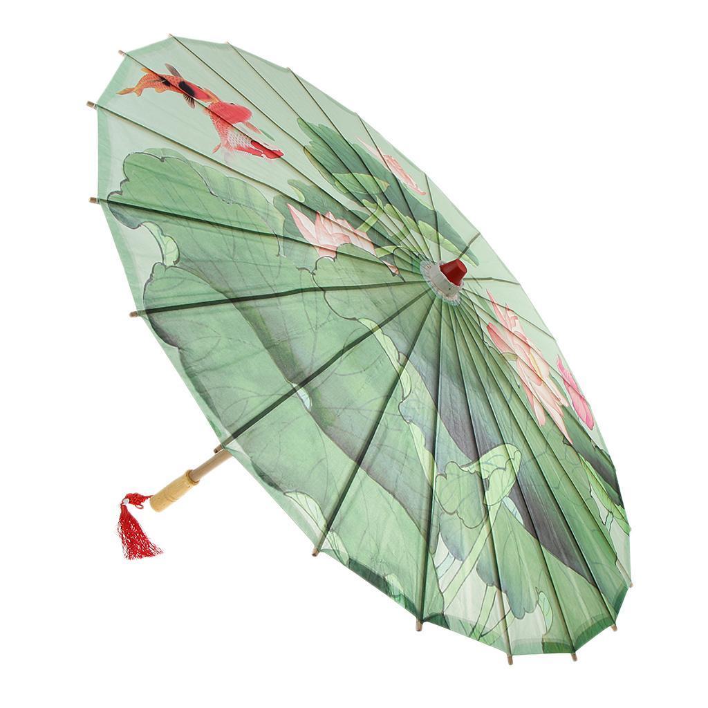Parapluie-Chinois-Parasol-De-Mariage-Maison miniature 28