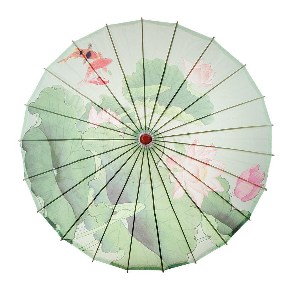 Parapluie-Chinois-Parasol-De-Mariage-Maison miniature 27
