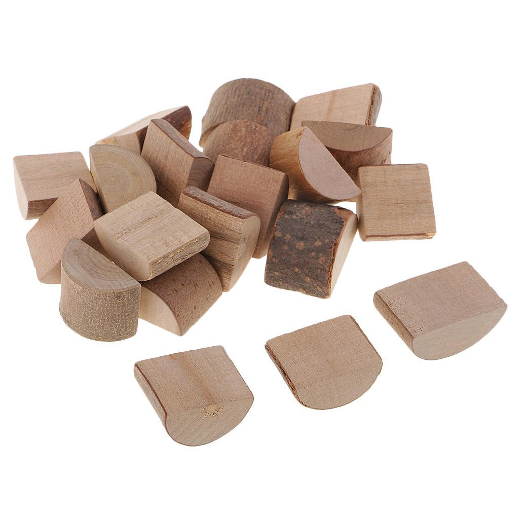 Kids-Crafts-Supply-Accessory-Natural-Wooden-Blocks-Assorted-Painting-Supply thumbnail 5