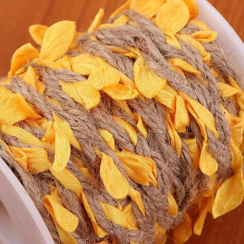 Artificial-Vine-Fake-Leaves-Silk-Rattan-Home-Ornament-Silk-Wreath-Foliage thumbnail 3