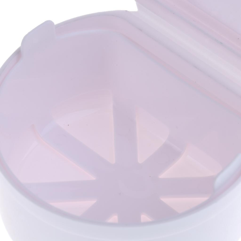 Plastic-Orthodontic-Denture-Teeth-Box-Container-Dental-Holder-Storage-Case-Cup thumbnail 17