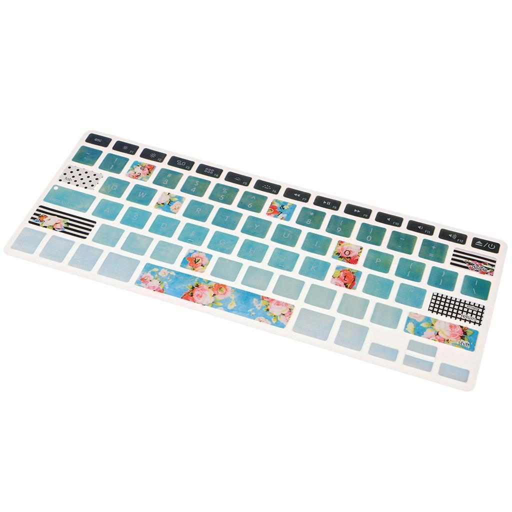 Silicone-Keyboard-Cover-Skin-Protector-for-Apple-Macbook-Pro-13-039-039-15-039-039-Retina thumbnail 18