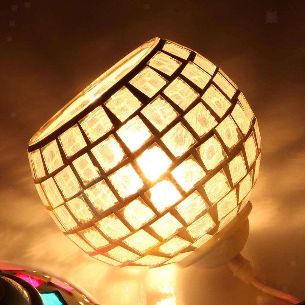 Mosaic-Style-Hanging-Light-Ceiling-Pendant-Lamp-Retro-Lampshade-Cafe-Restaurant thumbnail 8