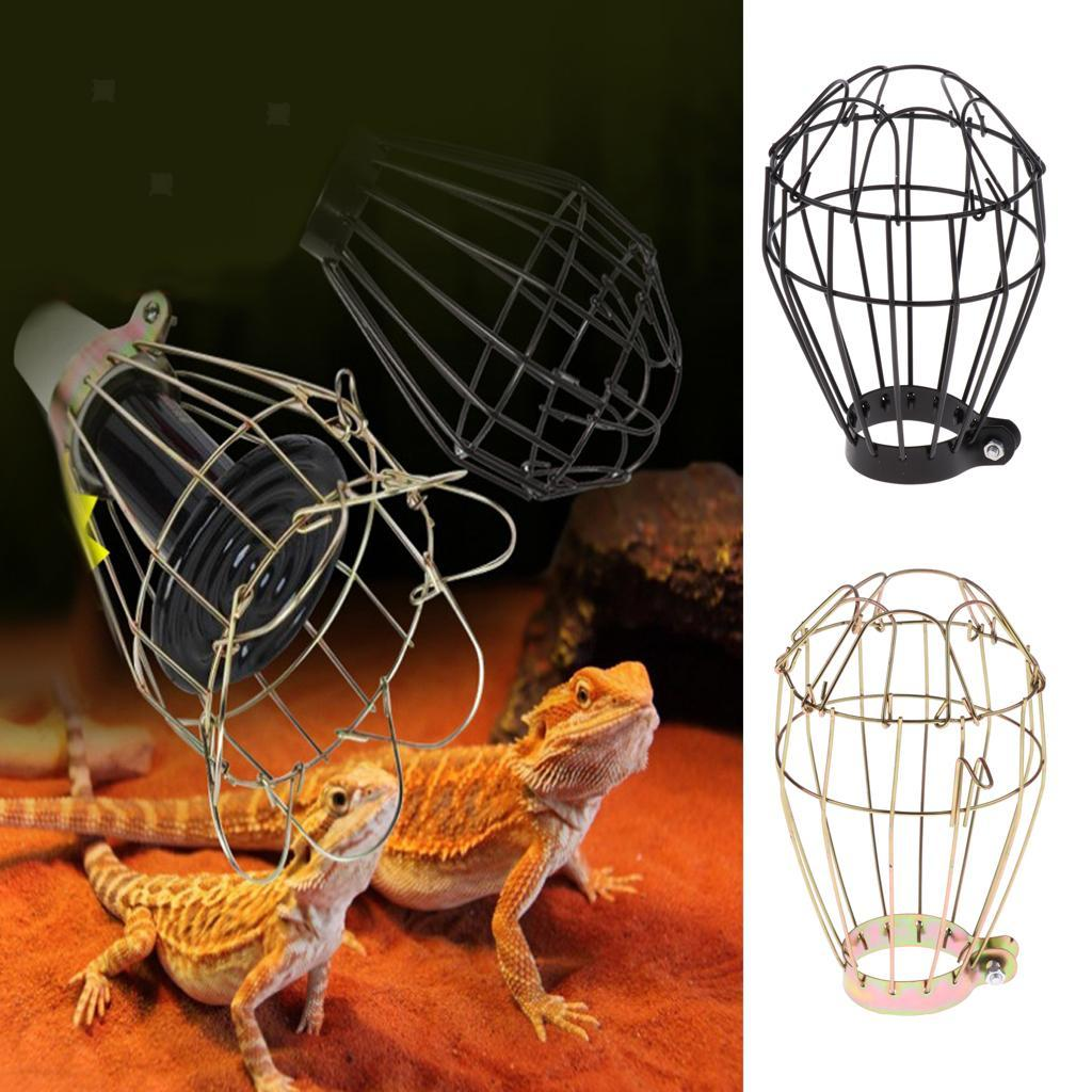 Round Square Balloon Reptile Heat Lamp Light Bulb Mesh Cage Protector Guard Ebay