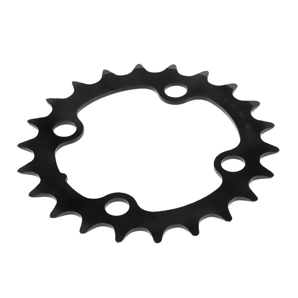 Plateau-Cassette-de-Velo-Velo-de-Montage-Bicyclette-Pignon-Fixe-104BCD-Noir miniature 12