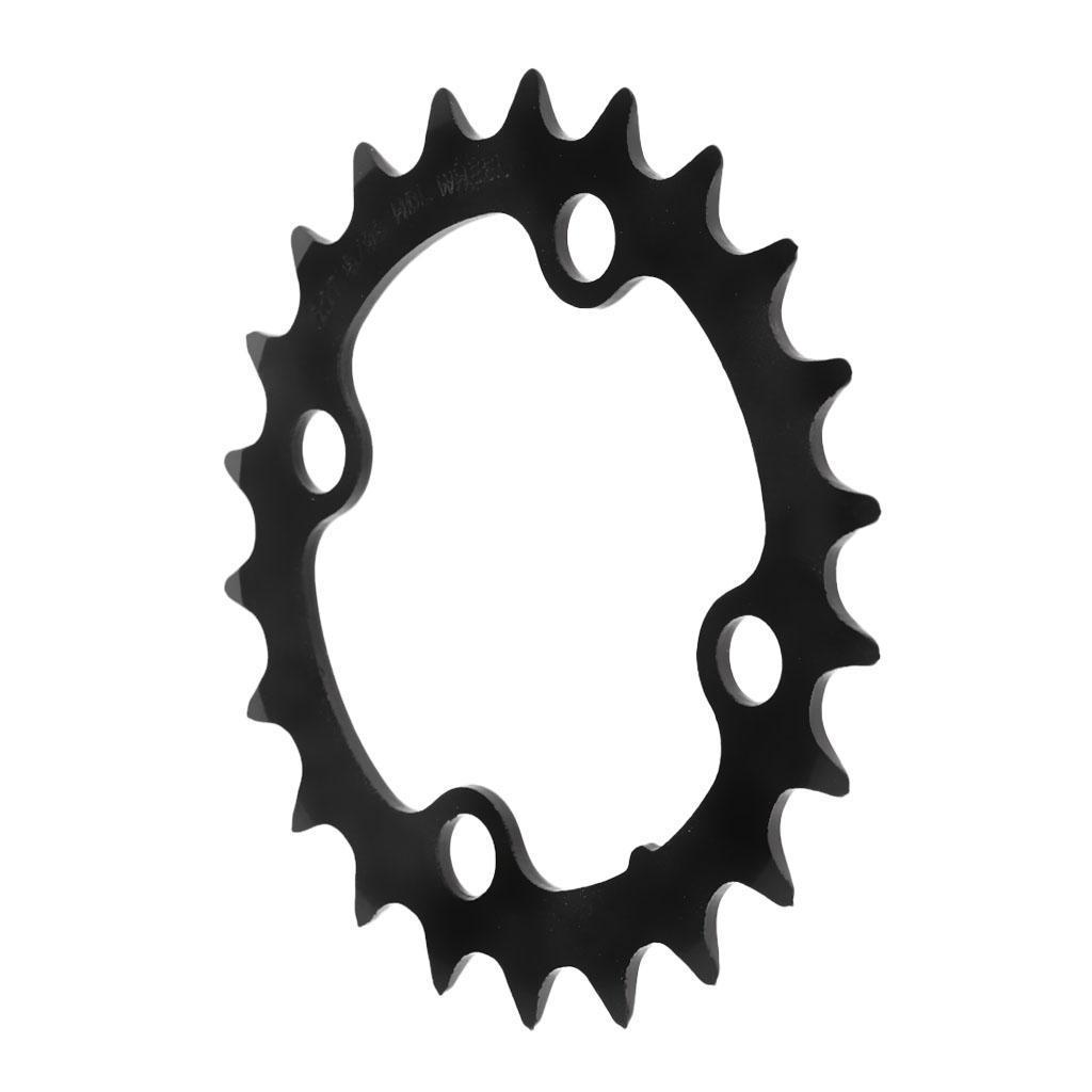 Plateau-Cassette-de-Velo-Velo-de-Montage-Bicyclette-Pignon-Fixe-104BCD-Noir miniature 13