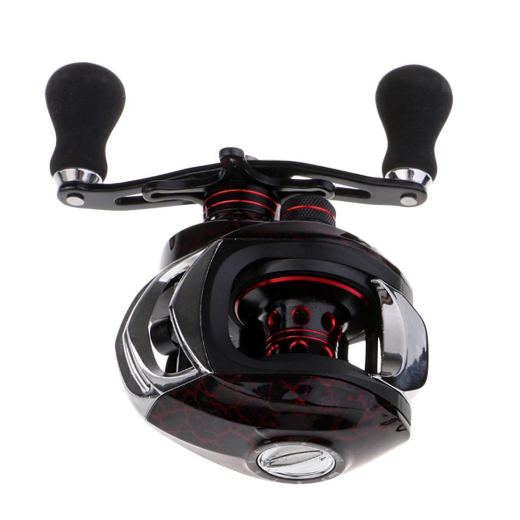 Magnetic-Brake-13-1-Ball-Bearings-Saltwater-Fishing-Casting-Baitcasting-Reel thumbnail 4