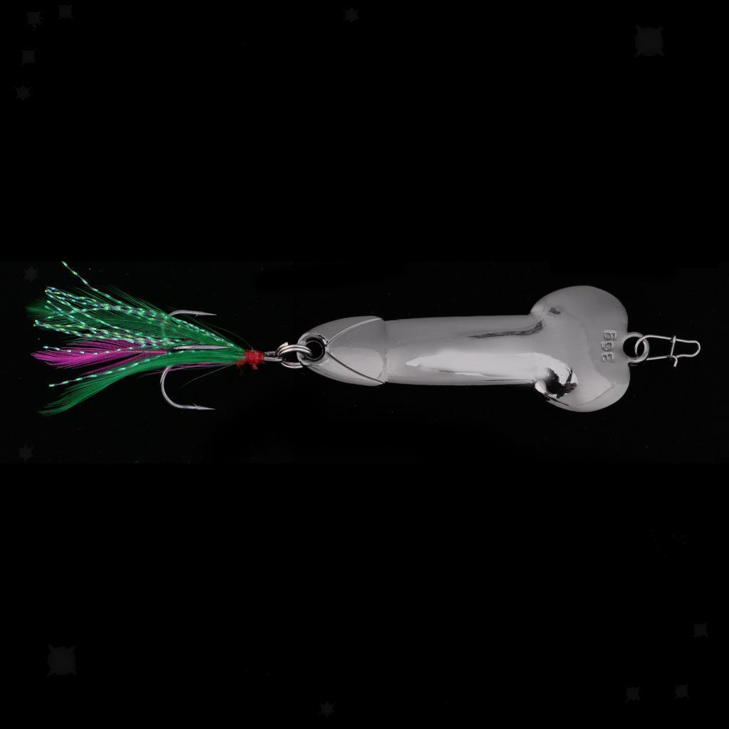Esche-da-Pesca-Artificiale-Cucchiaio-Gancio-Crankbait-in-Metallo-Accessori miniatura 27