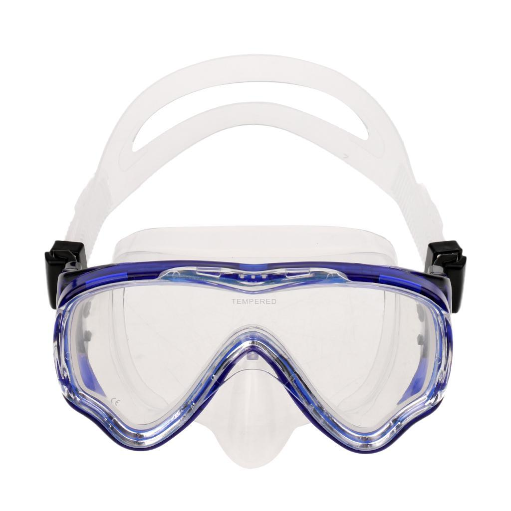 Comfortable-Silicone-Free-Diving-Scuba-Dive-Mask-Snorkel-Set-for-Kids-Junior thumbnail 7