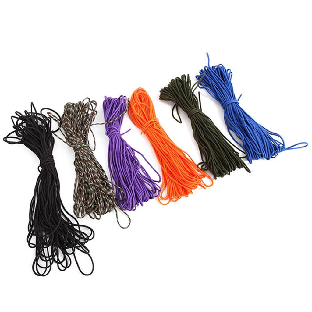 31m-100ft-Paracord-Parachute-Cord-7-Strand-Camping-Hiking-Survival-Lanyard-Rope thumbnail 4