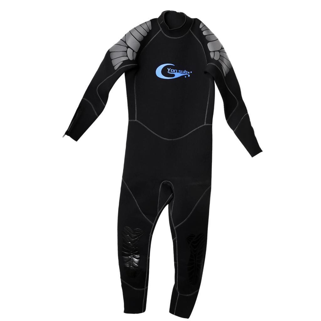 5mm Thick Neoprene Men Wetsuit for Scuba Diving Surfing ...