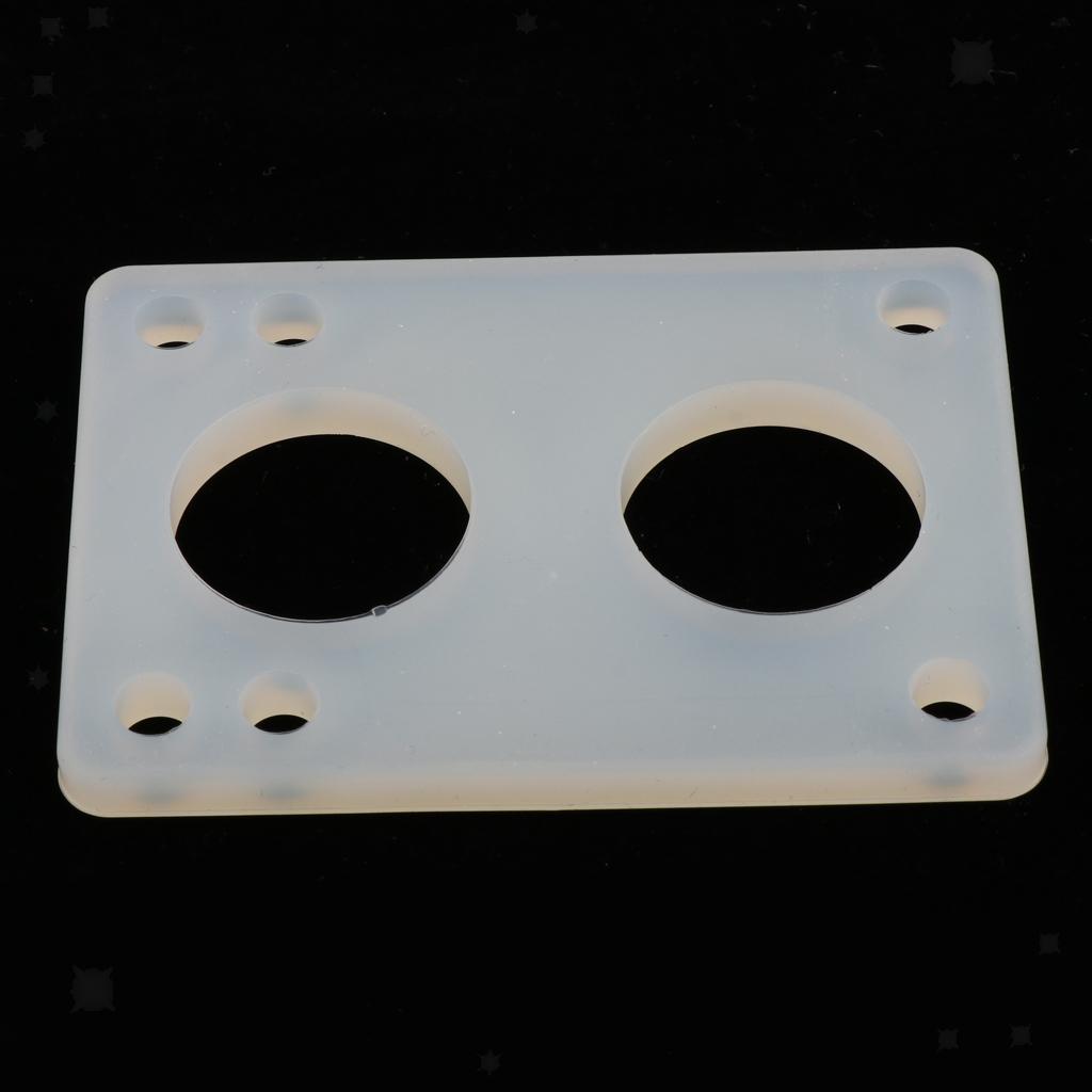 Ammortizzatori-di-riser-longboard-in-gomma-da-skateboard-2-pezzi miniatura 11