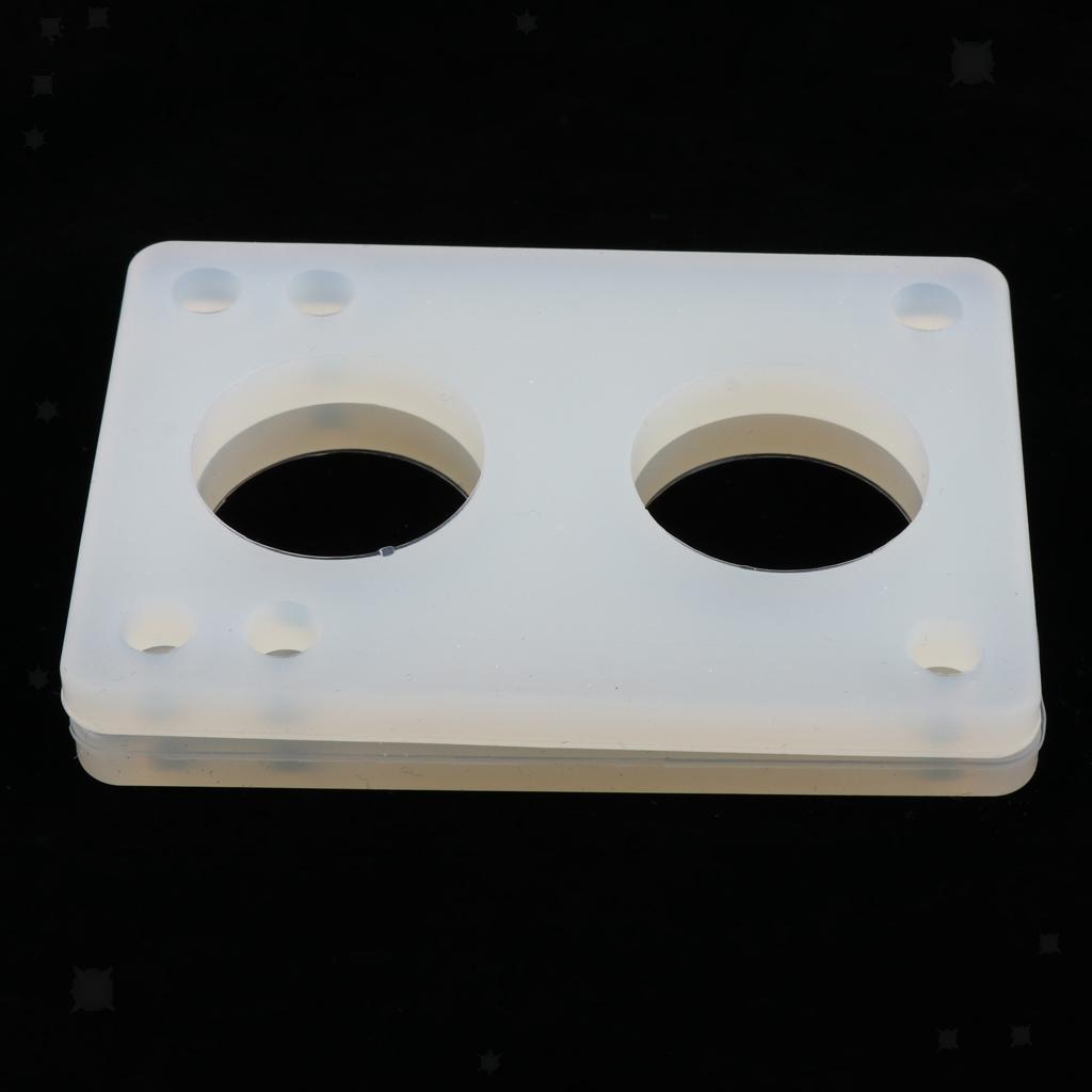 Ammortizzatori-di-riser-longboard-in-gomma-da-skateboard-2-pezzi miniatura 8