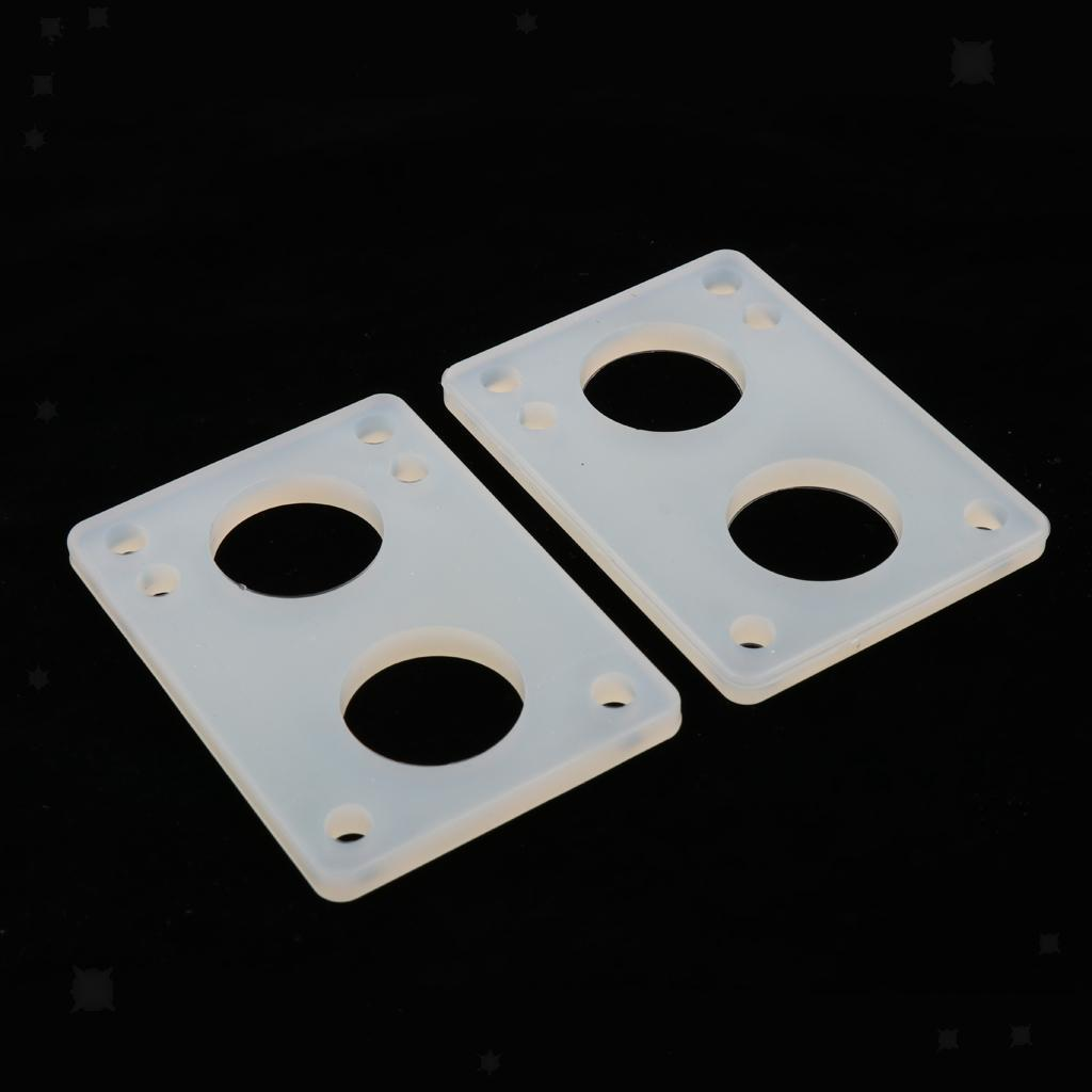 Ammortizzatori-di-riser-longboard-in-gomma-da-skateboard-2-pezzi miniatura 9