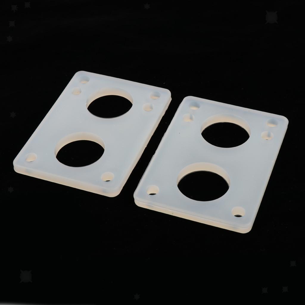 Ammortizzatori-di-riser-longboard-in-gomma-da-skateboard-2-pezzi miniatura 10