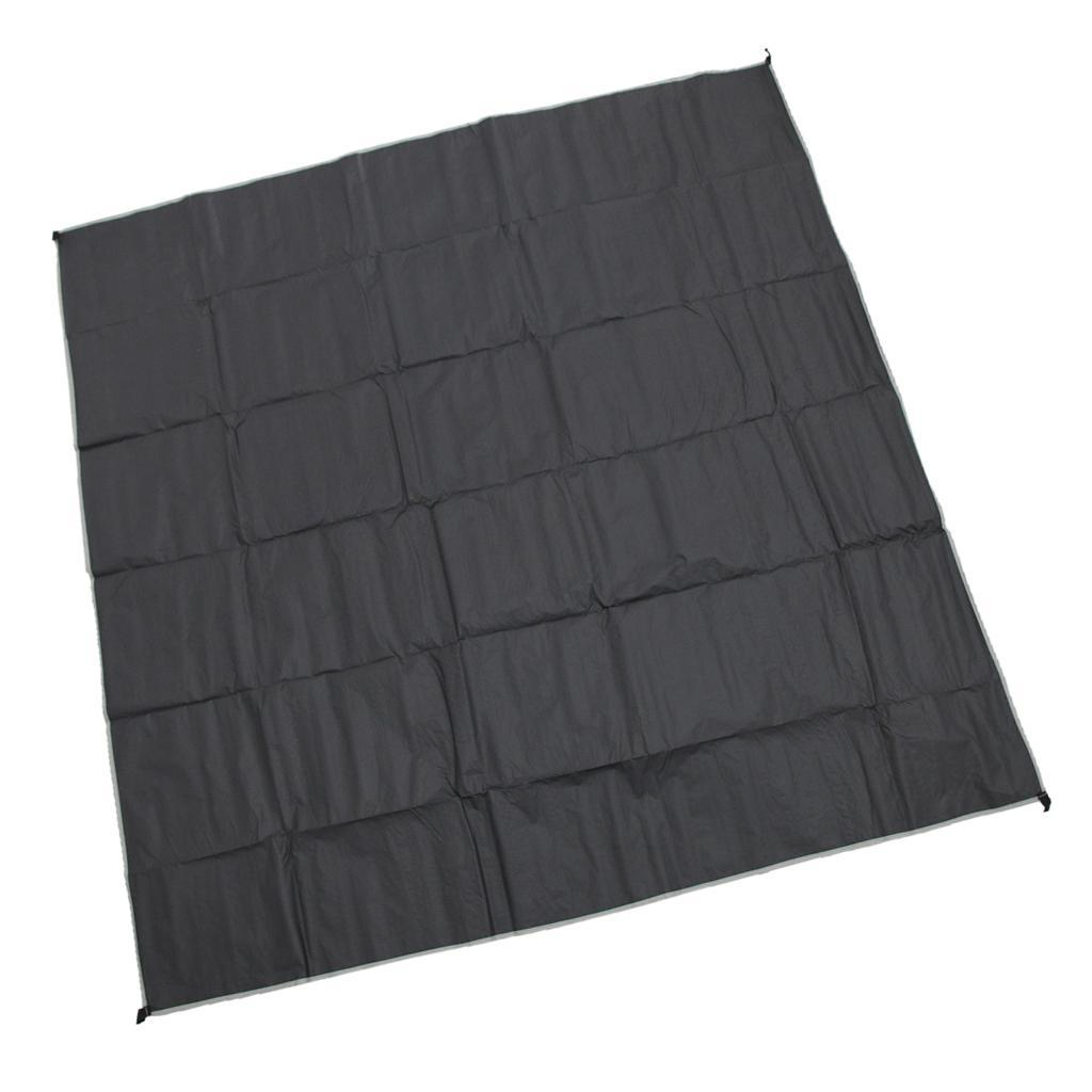 Rainproof-Camping-Tent-Ground-Sheet-Folding-Sunshade-Mat-Tent-Tarp-Footprint thumbnail 4