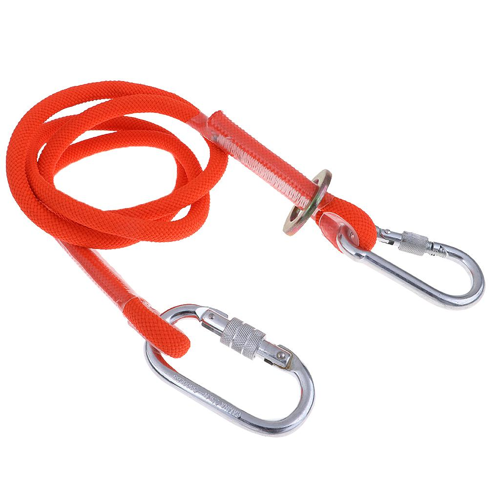 1.17m Reactor 3 Y Fall Arrest Web Lanyard Scaffold Hooks Double Lanyard Shock