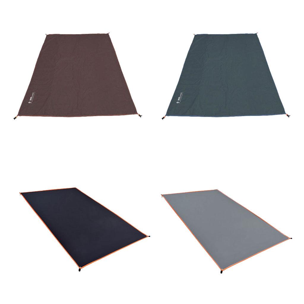 Tenda-impermeabile-Tarp-Footprint-Camping-Ground-Sheet-per-escursionismo miniatura 12